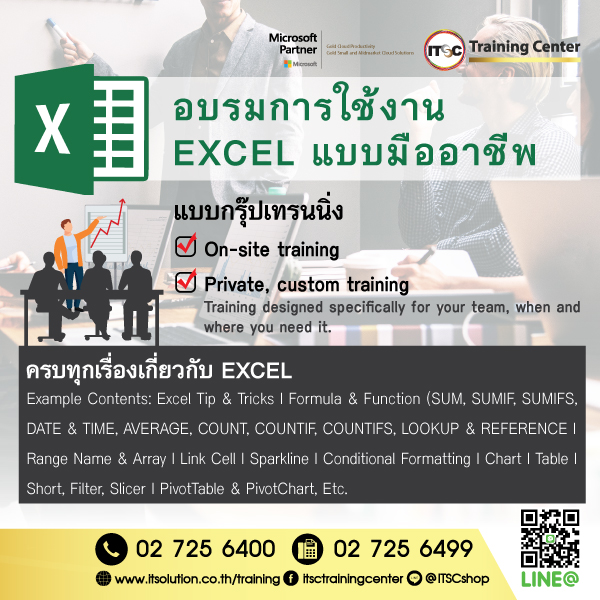 Promotion Microsoft Excel All Course